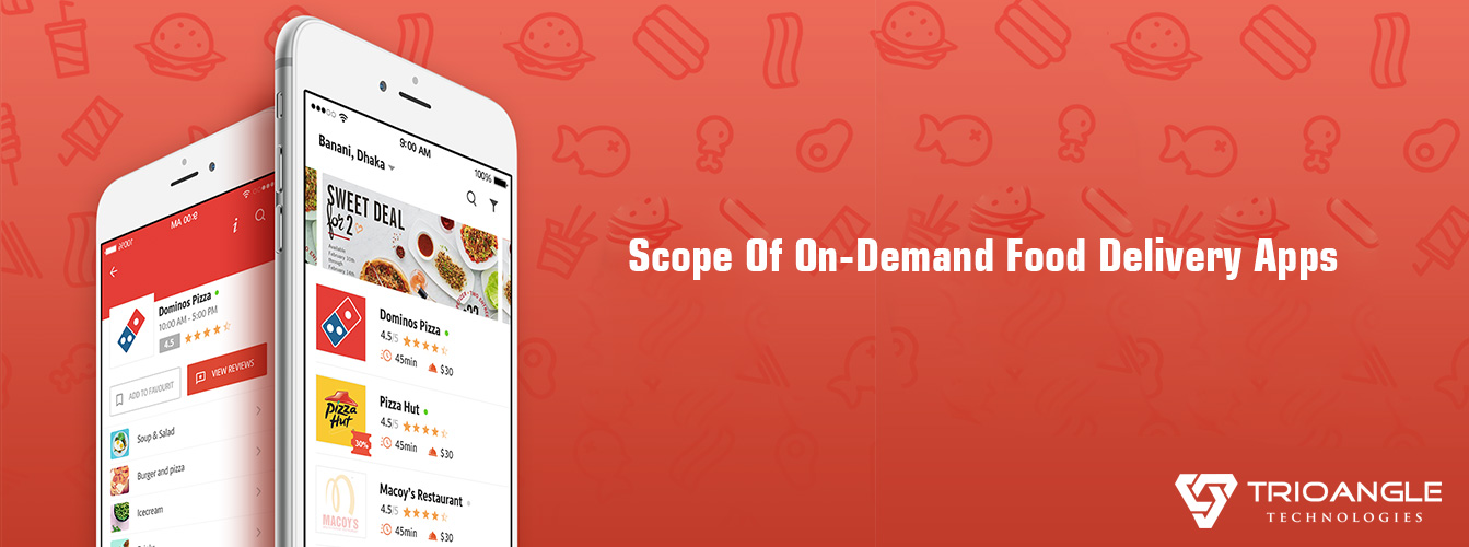 Scope Of On-Demand Food Delivery Apps - Blog