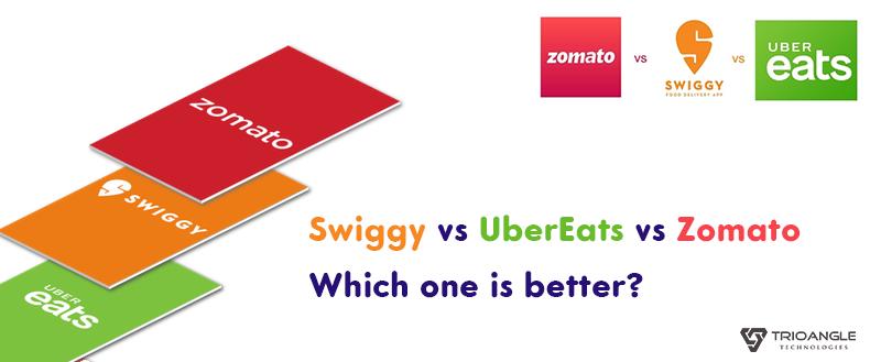 Swiggy vs Ubereats vs Zomato | Which one is better? - Blog