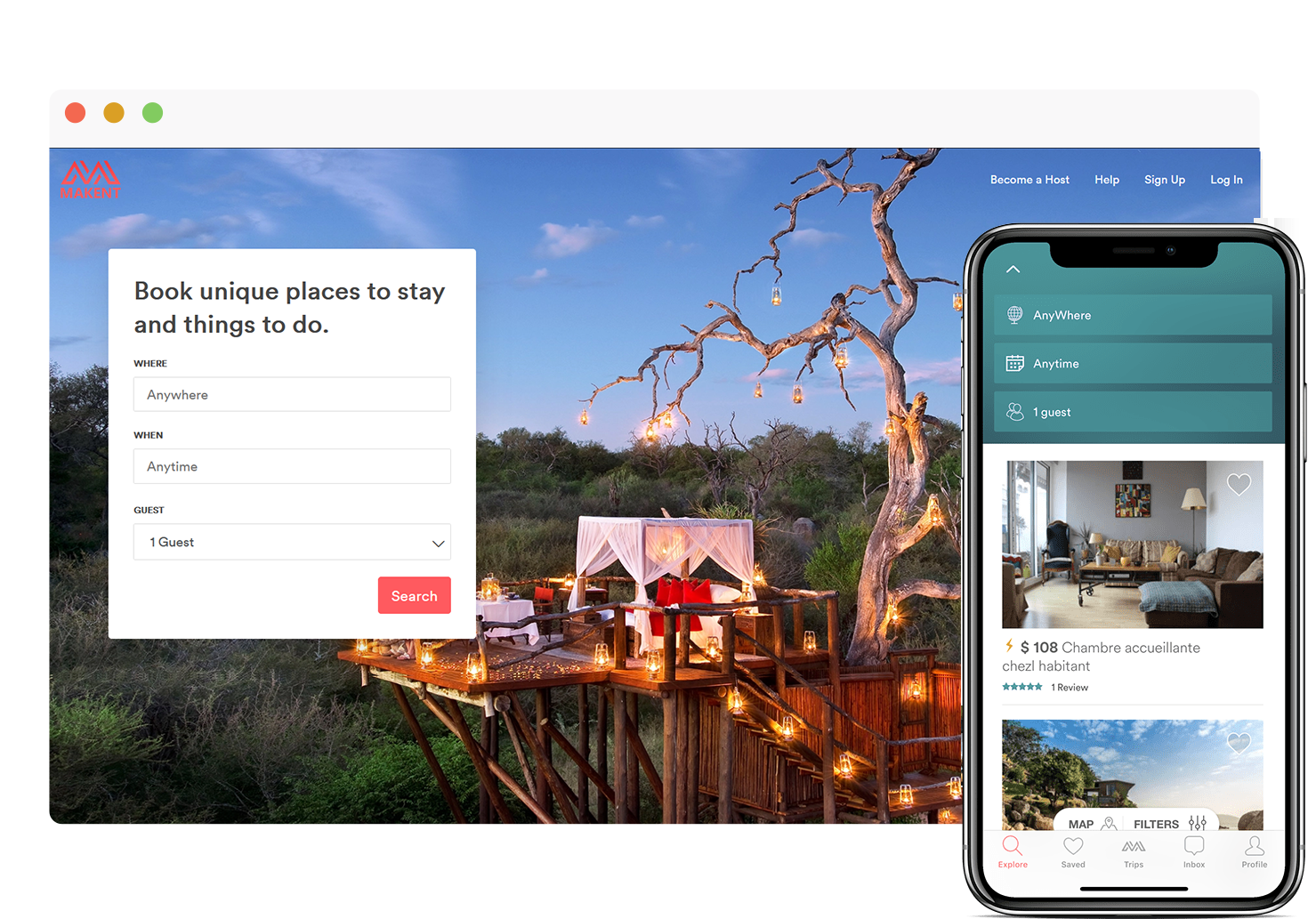 Best Airbnb Clone - Advanced Search Options