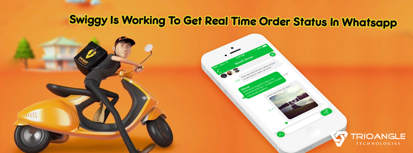 Swiggy Is Working To Get Real Time Order Status In WhatsApp